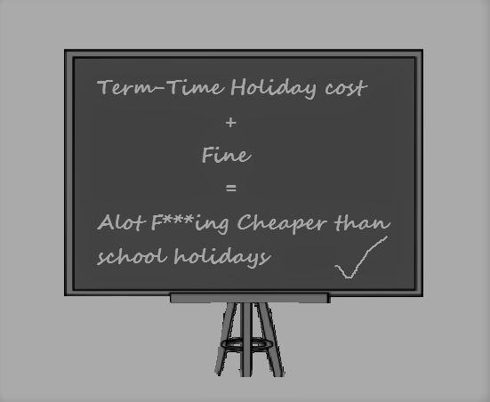 Term Time holiday - Getting away and getting away with it